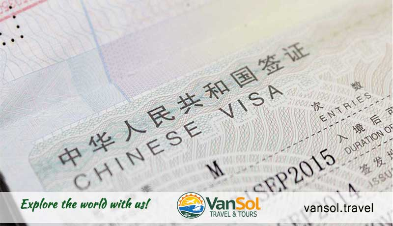 China Visa Requirements