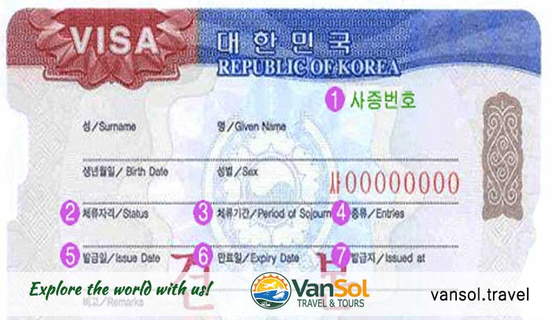 Korea Visa Requirements Vansol Travel And Tours